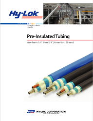 pre-insulated tubing