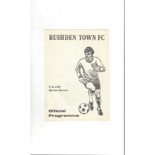 Non league in FA Cup Football Programmes
