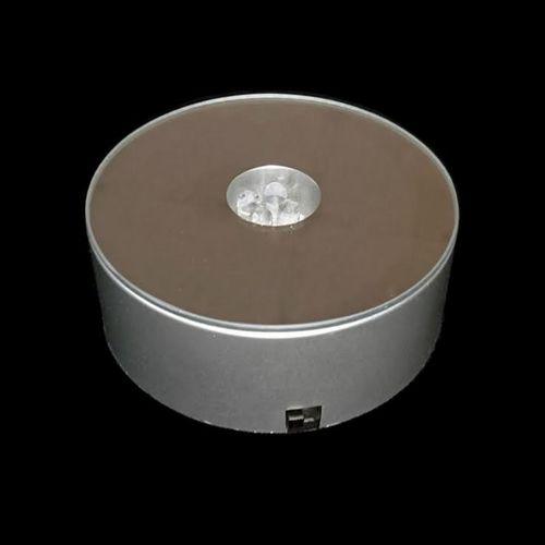 Round LED Rotating Light Base