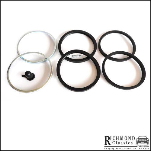 Classic Mini 8.4in Disc Brake Caliper Repair Kit - GRK5008 - 12in Wheels