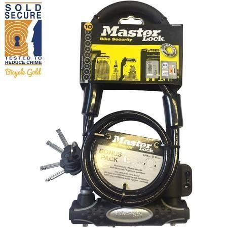 MasterLock D-Lock w/ cable