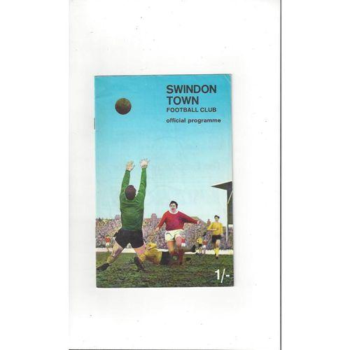 Swindon Town Home Football Programmes