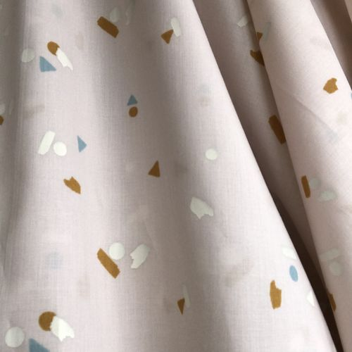 Atelier Brunette Abstract Cotton Cambric 0.97m Remnant