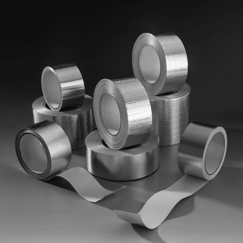 2 Way Reinforced Aluminium Foil Tape with Solvent Acrylic Adhesive