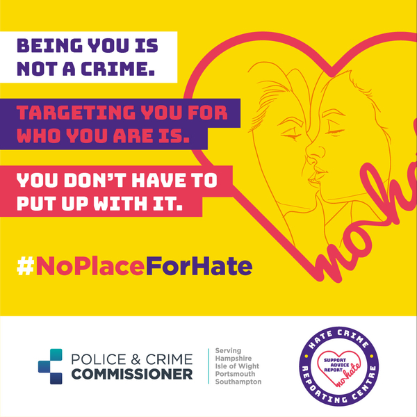 Reporting Hate Crime on the Isle of Wight