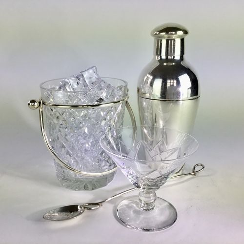 Wiskemann silver plated cocktail shaker Circa 1930s
