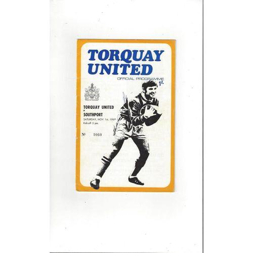 Torquay United Home Football Programmes