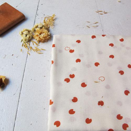Atelier Brunette Cosmic Chestnut Viscose 0.88cm Remnant