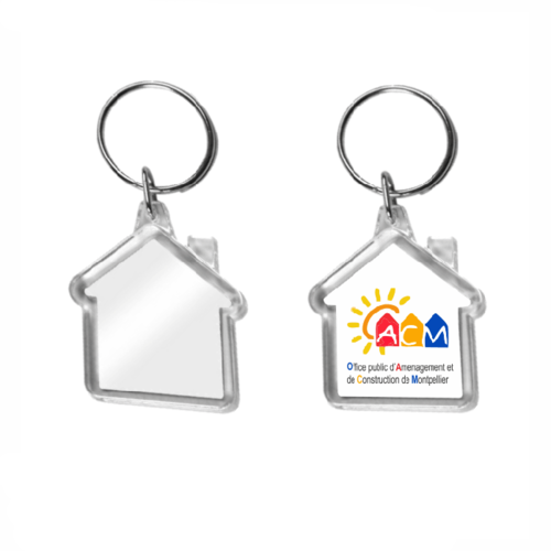 Promotional Plastic Keyrings