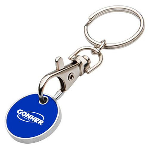 Promotional Trolley Coins Keyrings