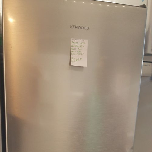 KENWOOD KNF60X17 60/40 Fridge Freezer - Inox