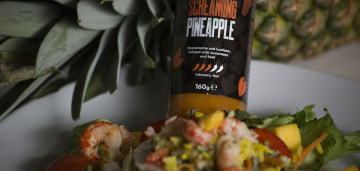 Screaming pineapple, hot sauce, chilli, pineapple, hot pineapple, spicy, Borneo, unique flavour
