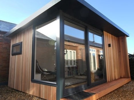 Garden Office Swansea, Garden Studio Swansea, Sips Buildings Wales