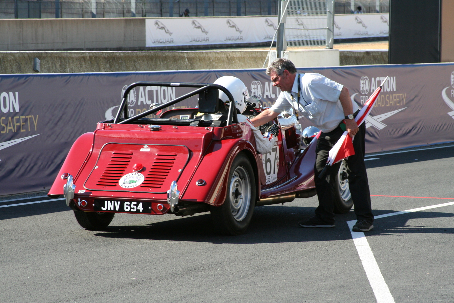 Morgans at Le Mans Classic 2016