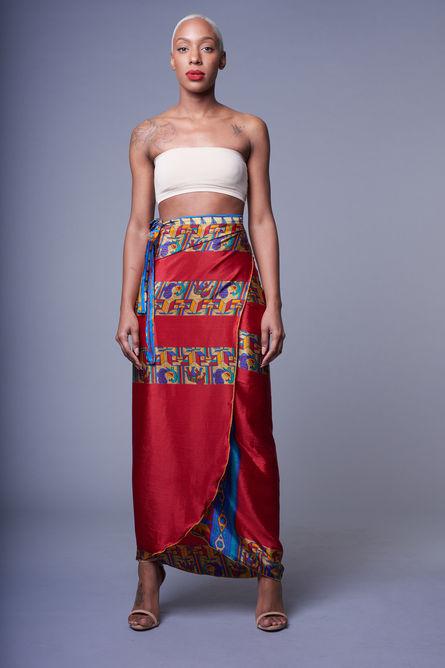 Maya Wrap Skirt