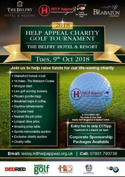 HELP APPEAL CHARITY GOLF TOURNAMOUNT