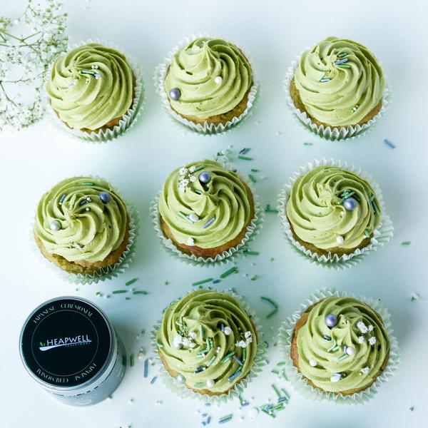 Matcha & Lemon Cupcakes