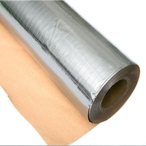 FSK (Foil Scrim Kraft) 7 Micron Alum Foil/PE/Bi-directional Scrim 12.5mm x 12.5mm/50gsm Natural Kraft