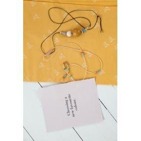 Atelier Brunette Bye Bye Birdie Mustard Cotton Cambric