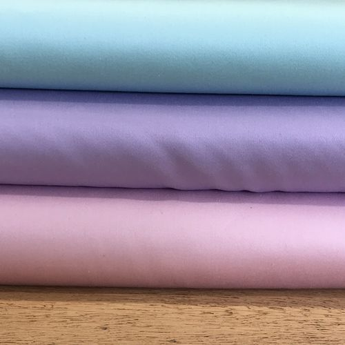 Pastels Lilac Stretch Cotton Sateen