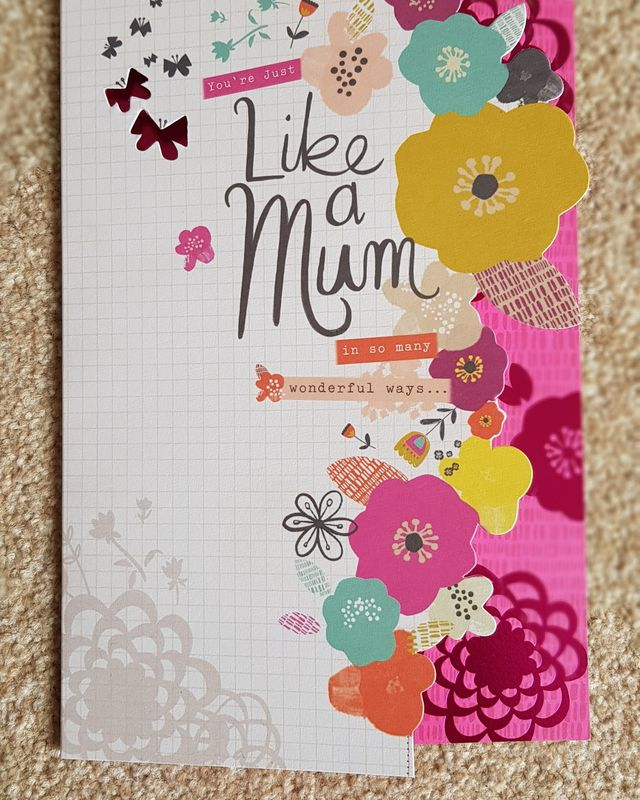 Mum Coloured Flowers Birthday Card Remember That Card Greeting