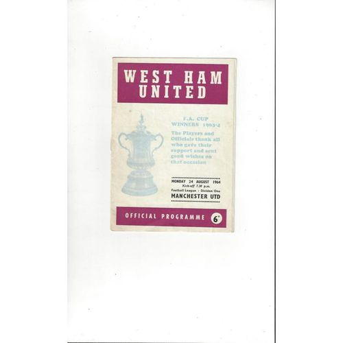 Maidstone United Away Football Programmes
