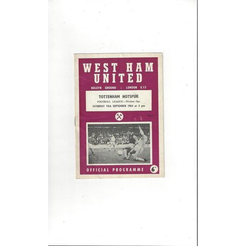 Tottenham Hotspur Away Football Programmes
