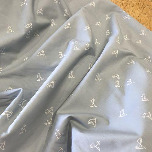 Atelier Brunette Bye Bye Birdie Blue Jean Cotton Cambric