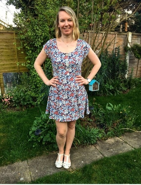 Sew Over It Doris Dress made by Adelle
