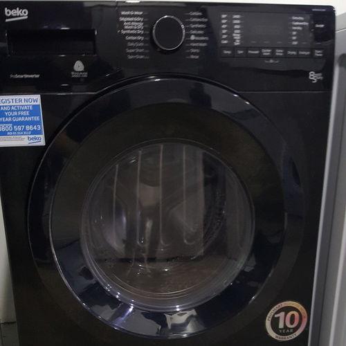 BEKO WDX8543130B Washer Dryer - Black
