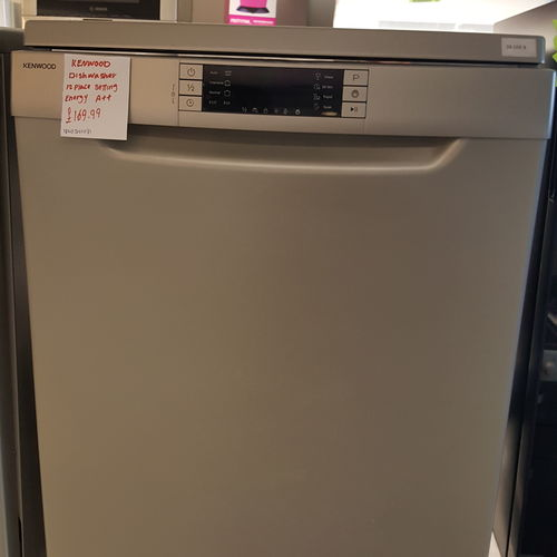 KENWOOD KDW60S16 Full-size Dishwasher - Silver Copy