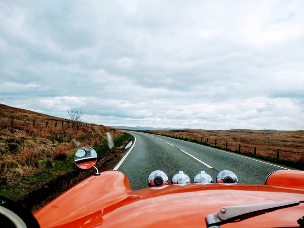 A Drive Across The Denbigh Moors