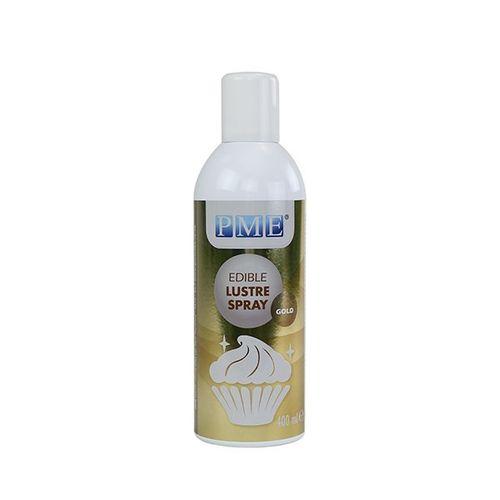 PME Edible Lustre Spray - Gold 400ml