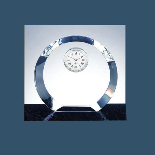 3D Crystal Clock 100x100x30