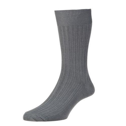 HJ Hall Executive Classic Rib Cotton Sock
