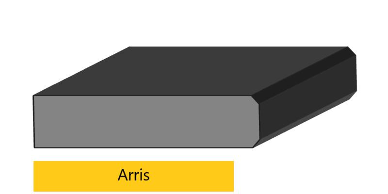 Arris edge profile