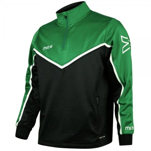 Wallsend Boys Club Mitre Primero Poly Quarter Zip Top