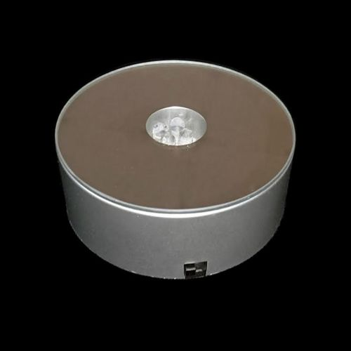Round LED Rotating Light Base