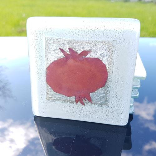 Opera Pomegranate Square Coaster