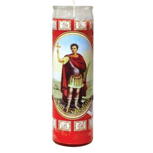 Saint Expeditus Candle