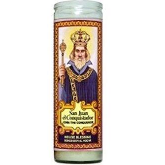 Juan el Conquistador Candle