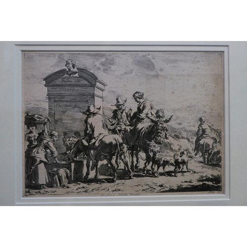 17th Century Engraving - Nicolai Visscher | after Nicolaes Berchem - £500