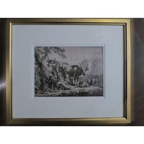 Visscher etching after Abraham Borm - 17th Century Art - £450
