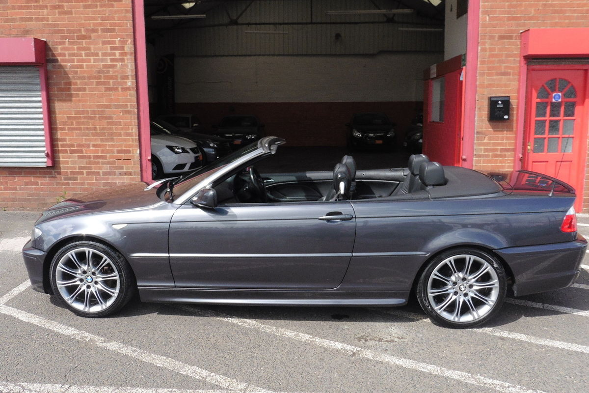 BMW 318Ci Sport Convertible Auto - Full Leather Interior - Sat Nav - 6 CD Changer