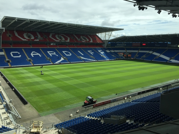 Falcon Fire look after Cardiff City Stadium's Fire Safefy Systems