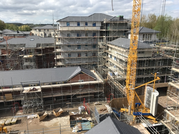 Falcon Fire looks after Fire Safety for Large Timber Frame Luxury Housing Development - Warwick
