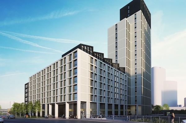 Falcon Fire involved with Fire Safety for the £50 Million - 25 Storey Capital Quarter Student Accommodation