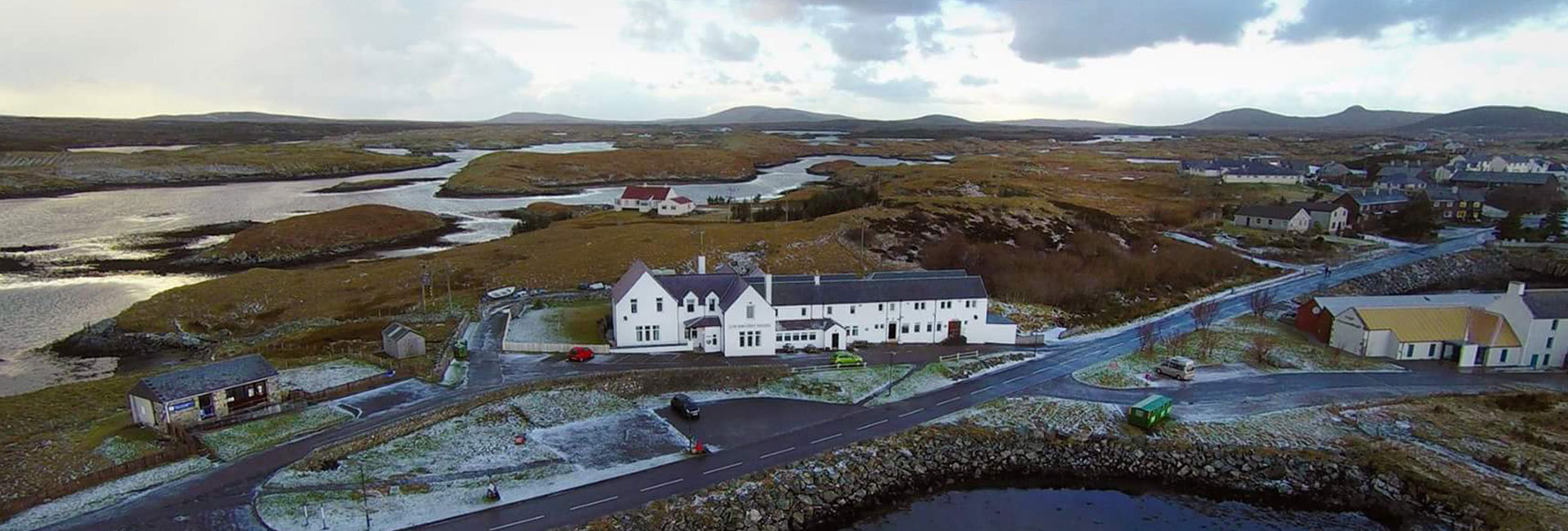 Hotel Lochmaddy, Hotel North Uist, Fishing North Uist