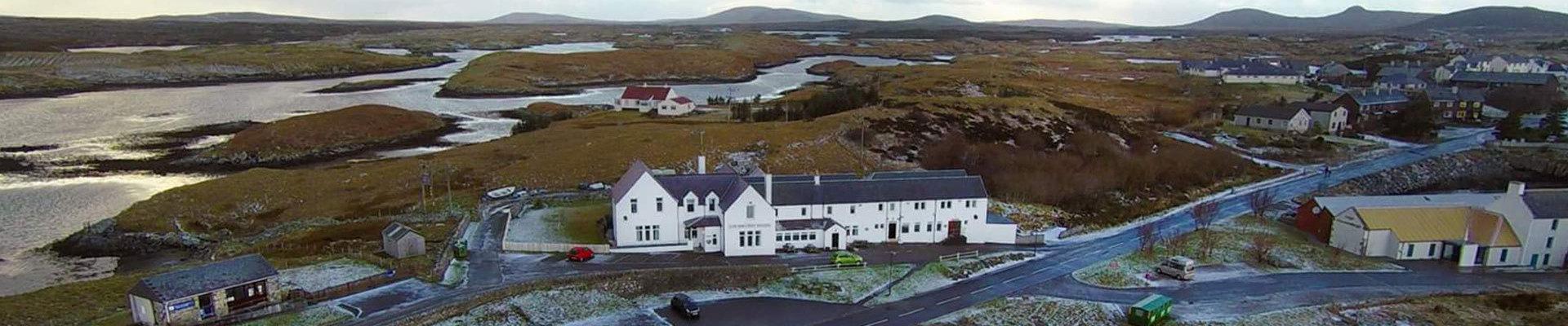 Hotel Lochmaddy, Hotel North Uist, Fishing North Uist