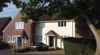 New developer house in Winchester